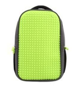 ab8590543a6df Plecak dwukomorowy na laptopa 15 Pixel Bags szaro-zielony - 2857702365
