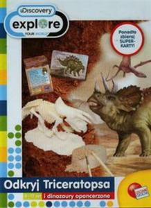 Odkryj Triceratopsa i dinozaury opancerzone - 2857703548