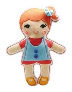 Lalka przytulanka Ola - 2851023852