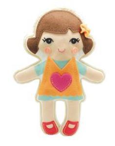 Lalka przytulanka Ania - 2825839108