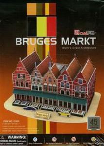 Puzzle 3D Rynek w Brugii - 2825839661