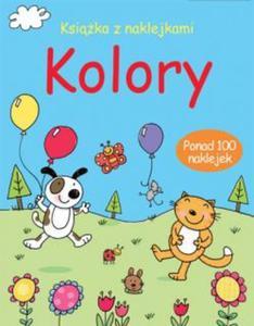 Kolory książka z naklejkami - 2825660887