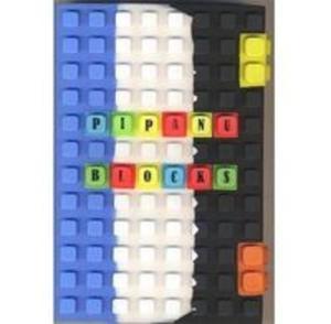 Notes silikonowy A6 Unipap Blocks w kratk� 100 kartek niebiesko-bia�o-czarny - 2825842154