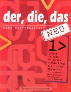 Der die das neu 1 Zeszyt ćwiczeń Kurs kontynuacyjny - 2825843608