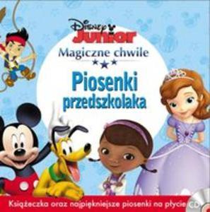 Magiczne Chwile Disney Junior PIOSENKI PRZEDSZKOLAKA - 2857708992