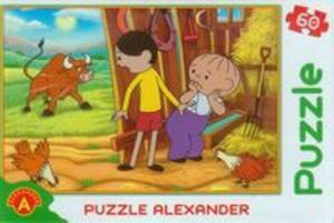 Puzzle 60 Bolek i Lolek szalony byk - 2853546907
