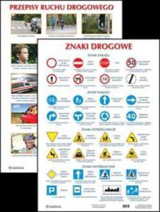 Plansza Znaki drogowe / Przepisy ruchu drogowego - 2825845678