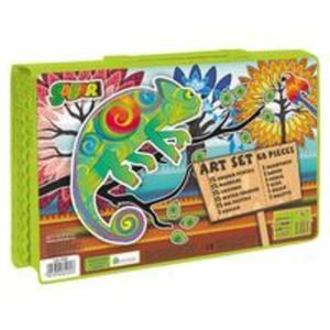 Zestaw artystyczny 68 elementów Safari - 2853547706