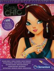 Crazy Chic Szkicownik Biżuteria fashion - 2825847365
