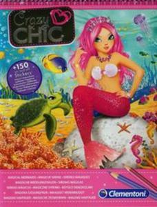 Crazy Chic Szkicownik Magiczne syrenki - 2851032110