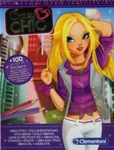 Crazy Chic Szkicownik Miejski styl - 2857711825