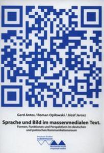 Sprache und Bild im massenmedialen Text - 2825848750