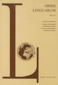 Orbis Linguarum vol.41 - 2851034248