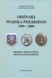 Odznaki Wojska Polskiego 1989-2009 - 2825661601