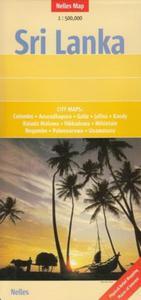 Sri Lanka mapa 1:500 000 Nelles