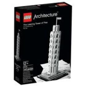 Lego Architecture Krzywa Wieża w Pizie - 2851036855
