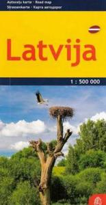 ŁOTWA MAPA JS 1:500000 LATVIJA JS 9789984074467 - 2857717012