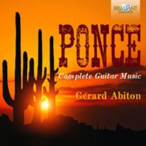 Ponce: Complete Music For Guitar - 2857719533