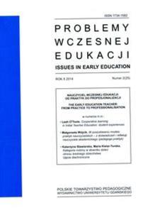 Problemy wczesnej edukacji Nr 2 2014 rok - 2853556569