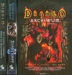 Diablo Archiwum Księga 1 / Diablo 3 Gdy zapada ciemność, rodzą się bohaterowie / Star Craft 2 Punkt krytyczny - 2857719962
