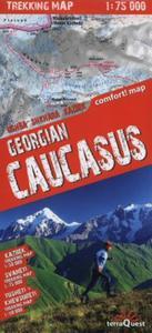 Gruzja Kaukaz Mapa trekingowa 1:50 000 - 2857721647