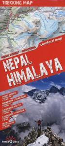 Nepal Himalaya trekking map 1:115000 - 2857721648