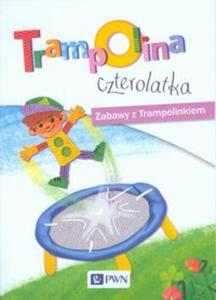 Trampolina czterolatka Zabawy z Trampolinkiem - 2857721728