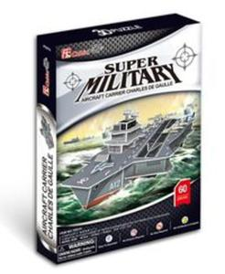 Puzzle 3D Aircraft Carrier Charles de Gaulle - 2853559129