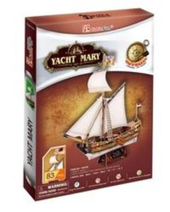 Puzzle 3D Yacht Mary - 2857722253