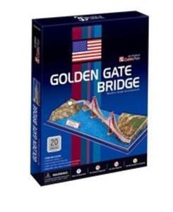 Puzzle 3D Golden Gate Bridge - 2825858473