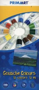 Farby Gouache Prima Art 12 kolorów 12 ml w tubie - 2857724366