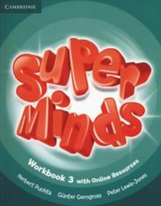 Super Minds 3 Workbook +Online - 2853563100