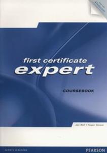 First Certificate Expert Coursebook + CD - 2857726319