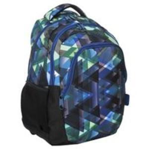 Plecak młodzieżowy Zielone trójkąty