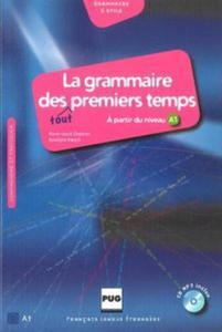 La grammaire des tout premiers temps A1 + CD MP3 - 2825863911