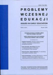Problemy wczesnej edukacji nr 3 (26)/2014 - 2857728843