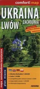 Ukraina Zachodnia Lwów 1:500 000 Mapa laminowana - 2857730036
