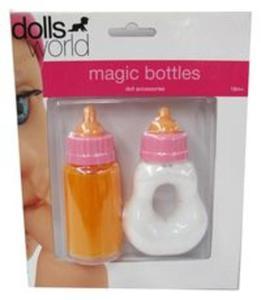 Zestaw 2 butelek do karmienia dla lalek - 2857730810