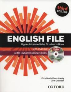 English File Upper-intermediate Student's Book with iTutor and Online Skills - 2857730882