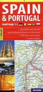 Spain&Portugal road map 1:1 100