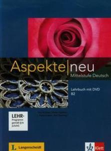 Aspekte neu Mittelstufe Deutsch Lehrbuch mit DVD B2 - 2857733114