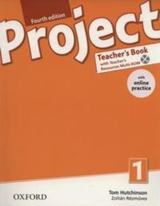Project 4E 1 Teacher's Book + Online Practice Pack - 2857733315