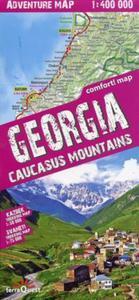 Georgia mapa samochodowo-turystyczna 1:400 000 - 2857733940