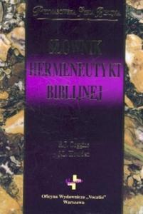 Słownik hermeneutyki biblijnej