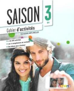 Saison 3 Ćwiczenia + CD - 2857734469