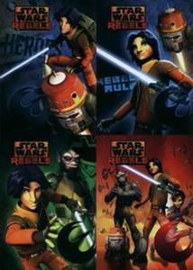 Zeszyt A5 Star Wars Rebels w trzy linie 16 kartek 15 sztuk mix - 2857735274