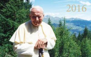 Kalendarz trójdzielny 2016 - Jan Paweł II - 2857735365