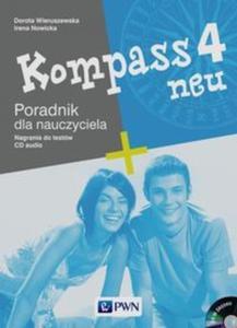 Kompass neu 4 Poradnik dla nauczyciela + CD - 2825871172