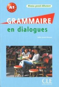 Grammaire en dialogues niveau grand debutamt książka + CD audio - 2853573179