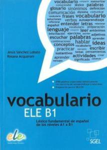 Vocabulario ELE B1 książka - 2825872215